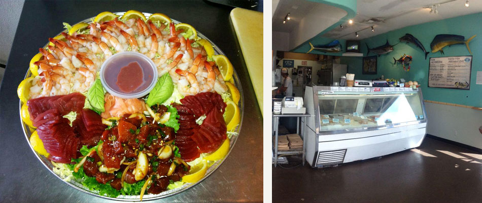 Fish market maui fresh seafood eat in or take out for City fish market menu